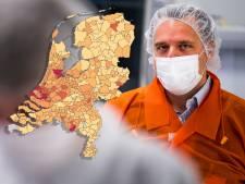 Kaart: Opnieuw forse stijging coronabesmettingen in Oost-Nederland, bekijk hier hoe het zit in jouw gemeente