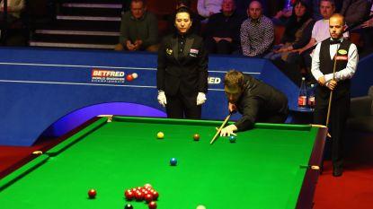 LIVE WK: Brecel en Walden hervatten duel in 'Crucible', Belg staat 6-3 achter