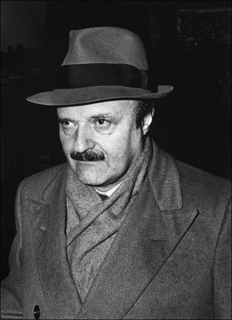 Roberto 'Gods Bankier' Calvi in 1982. Beeld afp