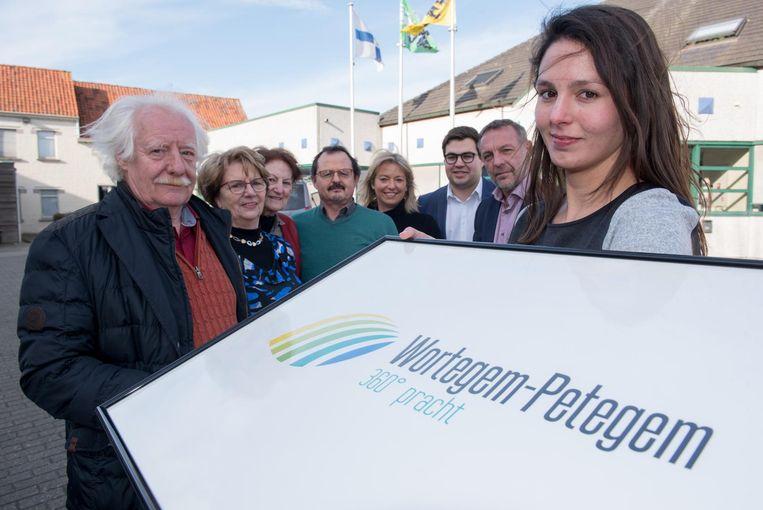 Wortegem-Petegem presenteert met trots het nieuwe logo.