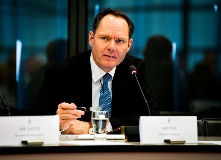 EZ-wethouder Udo Kock werft actief biotech- en farmabedrijven. Beeld anp