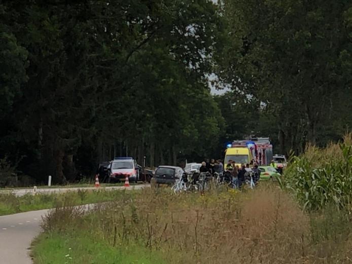 Op de Thornsestraat is een scholier overleden bij een ongeval.