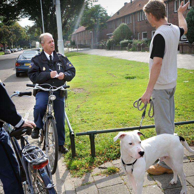 De Vogelaarwijk Doornakkers in Eindhoven. (2008) Beeld Marcel van den Bergh / de Volkskrant