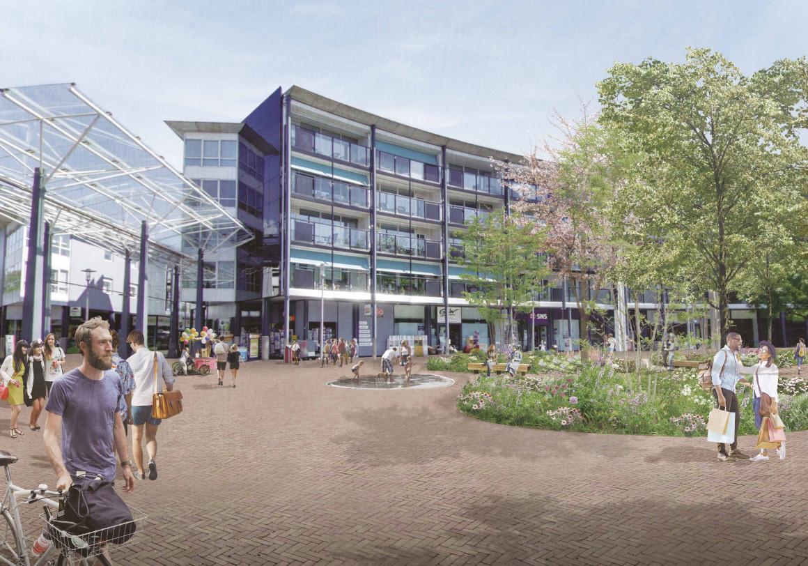 Winkelcentrum Bieshof Dordrecht