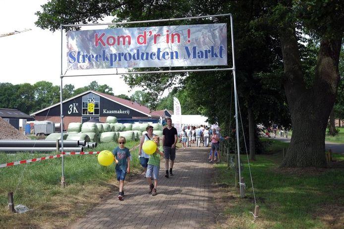 De Streekproducten Markt in Lievelde.