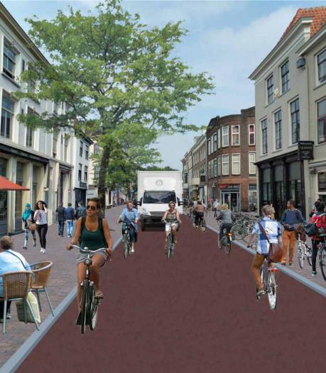 Ook fietsers moeten omrijden tijdens herinrichting van Voorstraat en Wittevrouwenstraat