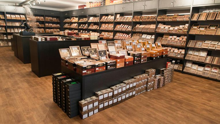 Cigaragua: de eerste winkel ter wereld waar alleen sigaren uit Nicaragua worden verkocht Beeld Charlotte Odijk