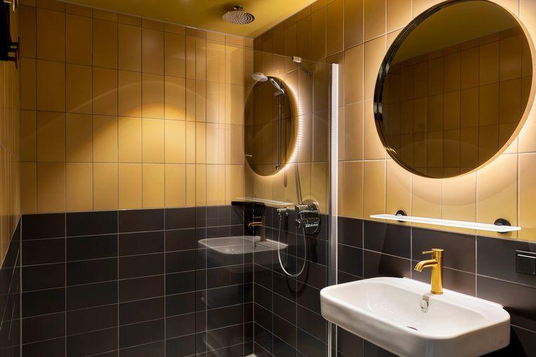De combinatie van neovintagedesign en opgeknapte jarenvijftigdecoraties doen oude tijden herleven. Beeld Slaak Rotterdam