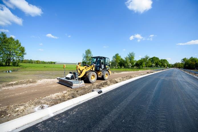 Het laatste stukje van de Randweg in Bladel is klaar en gaat volgende maand open.