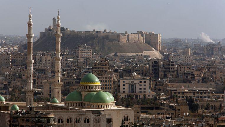 Het door oorlog verscheurde Aleppo