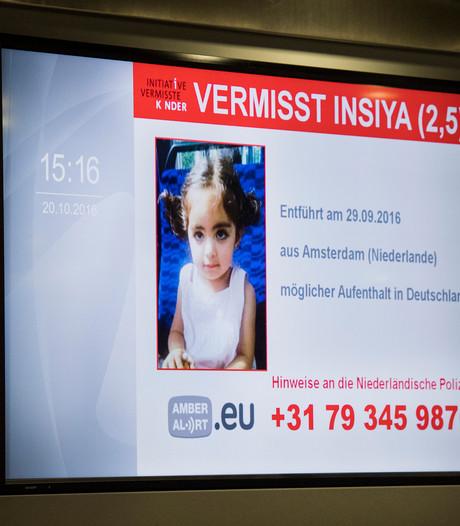 Verdachte ontvoering peuter Insiya wilde ontsnappen