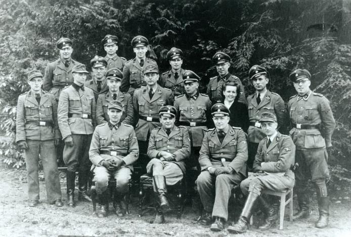 De Almelose SD begin 1945. Foto: Coen Cornelissen