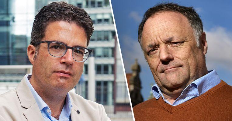 Virologen Marc van Ranst en Steven Van Gucht volgen het virus op de voet aan het hoofd van de Risk Assesment Group.