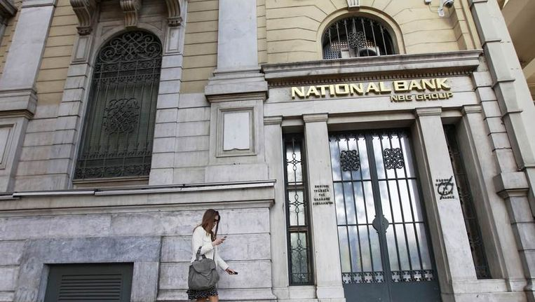 National Bank of Greece Beeld reuters