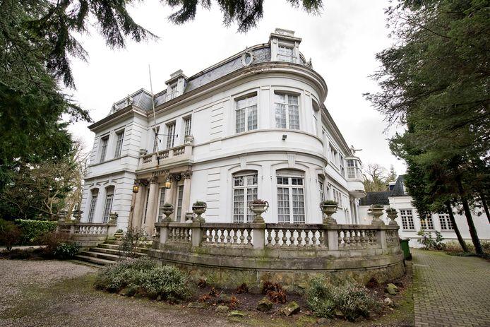 Villa Trianon aan de Baronielaan in Breda.