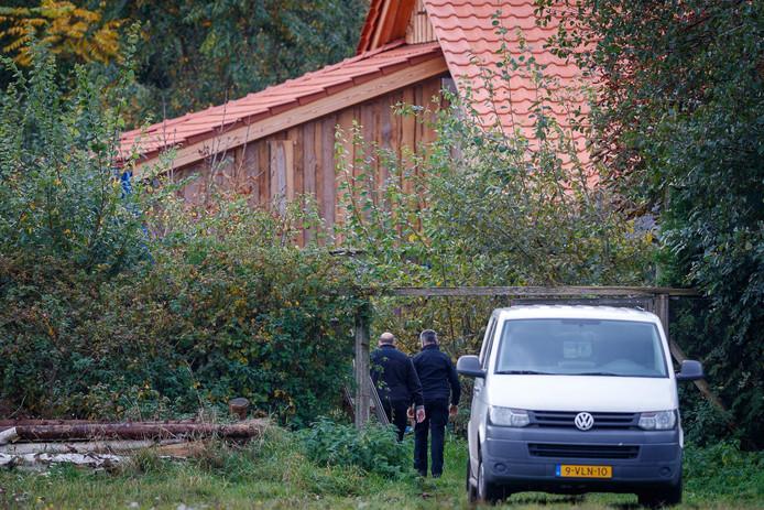 """La ferme dans laquelle un père et ses six enfants ont été découverts lundi au Pays-Bas. La famille y vivait recluse depuis neuf ans en """"attendant la fin des temps""""."""