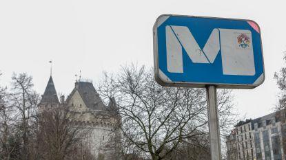 Metrolijnen 2 en 6 twee dagen deels onderbroken door versleten wissel