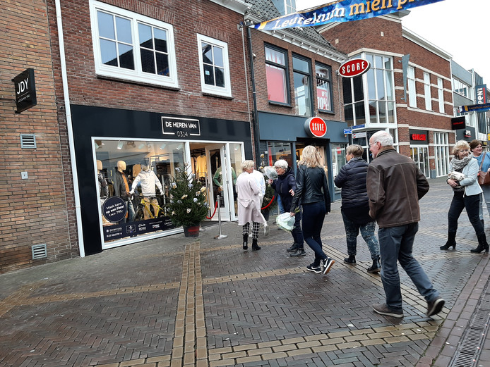 De Heren van 0314 is geopend in de Hamburgerstraat.