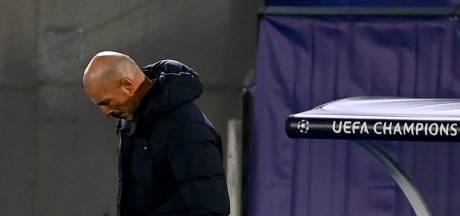 Zidane schuldbewust na blamage bij Sjachtar: 'Ik heb het niet goed gedaan'