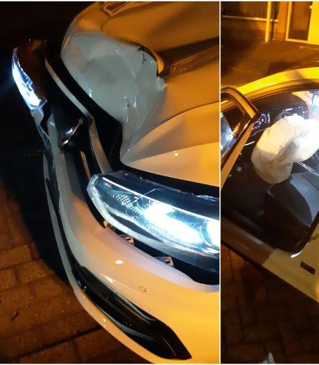 Man die bij vluchtpoging op auto botste in Etten-Leur verzint overval om onder straf uit te komen