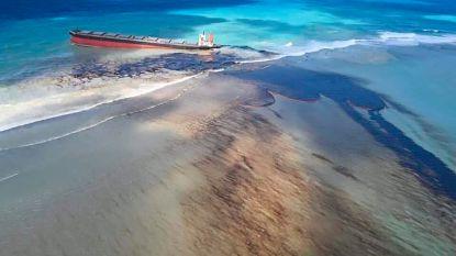 Vrees voor natuurramp op Mauritius door vastgelopen vrachtschip, Frankrijk stuurt hulp