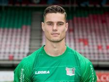 Joshua Smits eerste doelman NEC