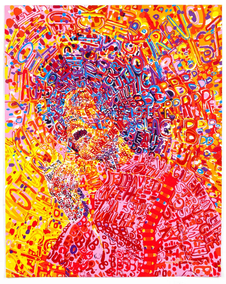 Wadsworth Jarrell, Revolutionary, 1972.  Beeld Wadsworth Jarrell, Foto: John Lusis