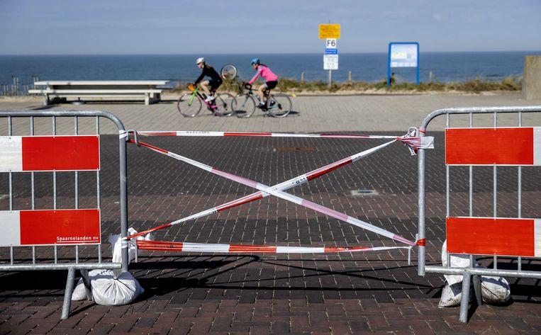 De parkeerplaatsen in Zandvoort zijn dit weekend gesloten.  Beeld ANP