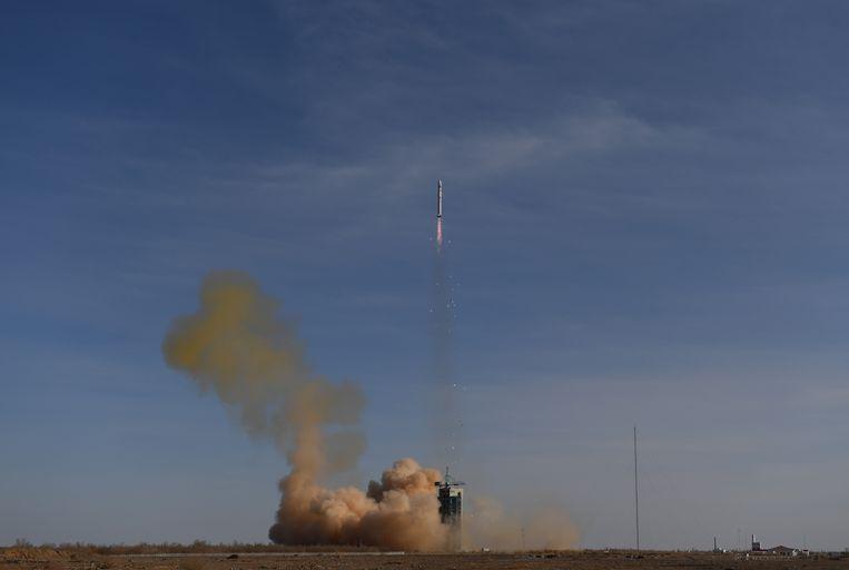 Van op de lanceerbasis Siquan is een Lange Mars-2D raket vertrokken die de satelliet in een zonsynchrone baan gebracht op een hoogte van ongeveer 500 km.