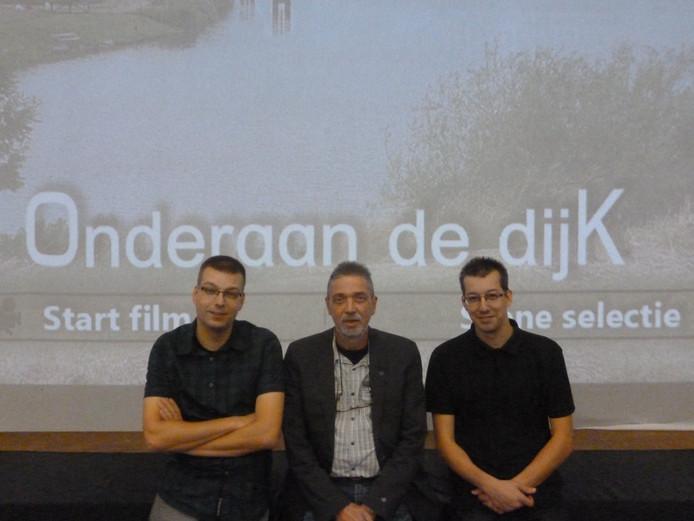 Op de foto v.l.n.r. Martijn van Summeren, Henny Fransen en Wouter van Summeren.