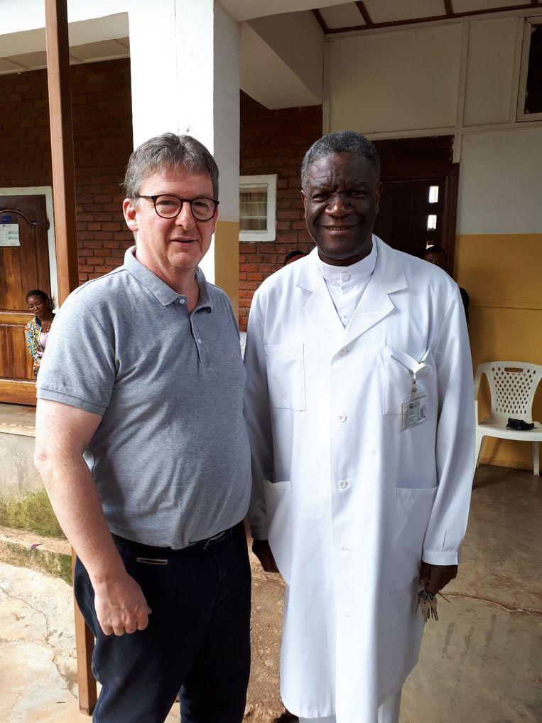 Guy Verhulst en Denis Mukwege.