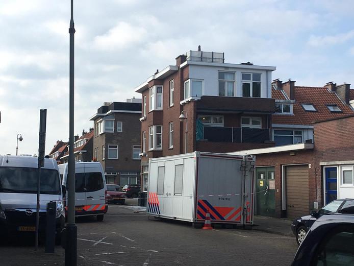 Onderzoek in Frambozenstraat in Den Haag.