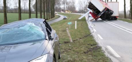 LIVE: Code rood voor Oost-Nederland, nog net geen orkaankracht