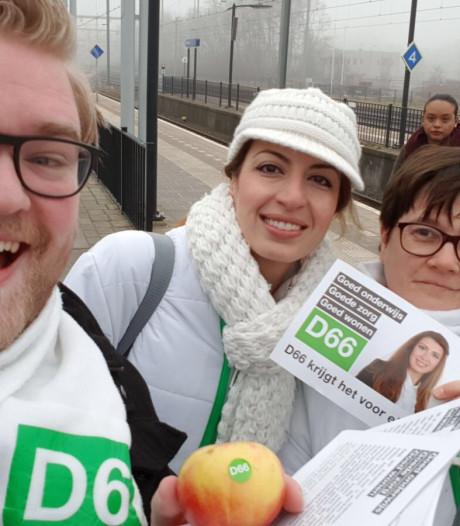 Raadszetel D66 Oldenzaal tijdelijk onbezet vanwege zwangerschap
