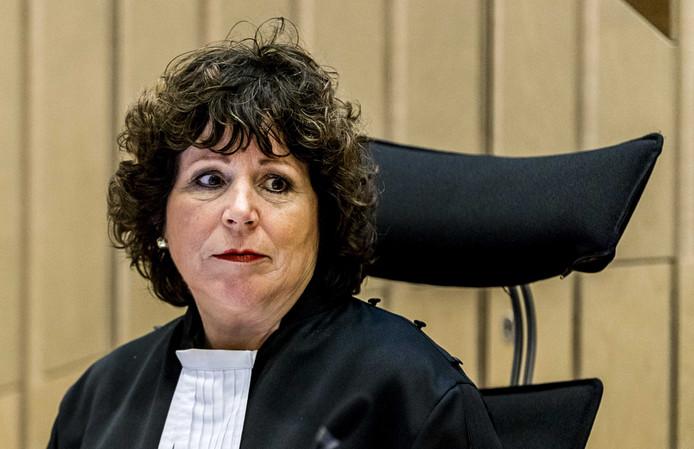 Rechter Elianne van Rens in de rechtbank