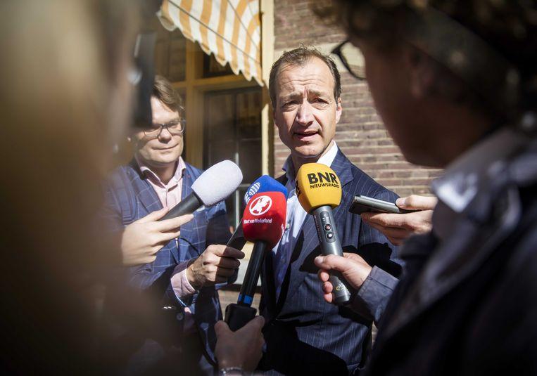Minister Eric Wiebes van Economische Zaken en Klimaat (VVD). Beeld ANP