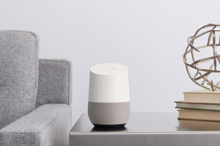 Een Google Home-speaker.