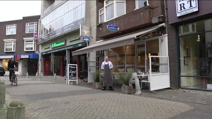 Wiesen Restaurant aan de Kleine Berg in Eindhoven.