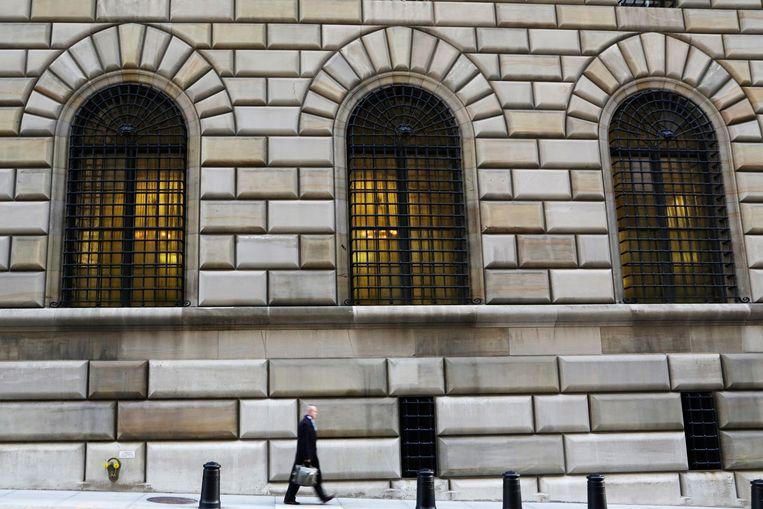 De Federal Reserve Bank van New York.