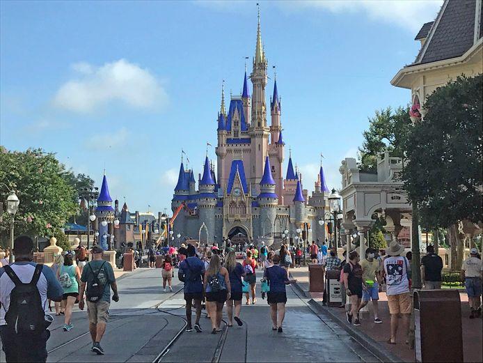 Jaarpashouders kregen donderdag al een kijkje in de keuken van 'corona-proof' pretpark Walt Disney World. (09/07/2020)