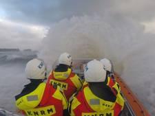 KNRM diverse keren uitgerukt vanwege storm