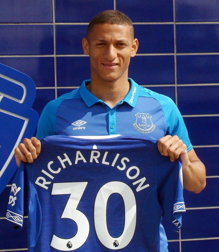 Toptransfer Richarlison kwam over voor 50 miljoen euro van Watford, de ex-ploeg van coach Marco Silva.
