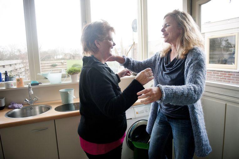 De Inloop is een kantine in het kantoor van GGZ Noord-Holland-Noord waar cliënten langs kunnen komen voor een kop koffie en een praatje met lotgenoten. Beeld An-Sofie Kesteleyn
