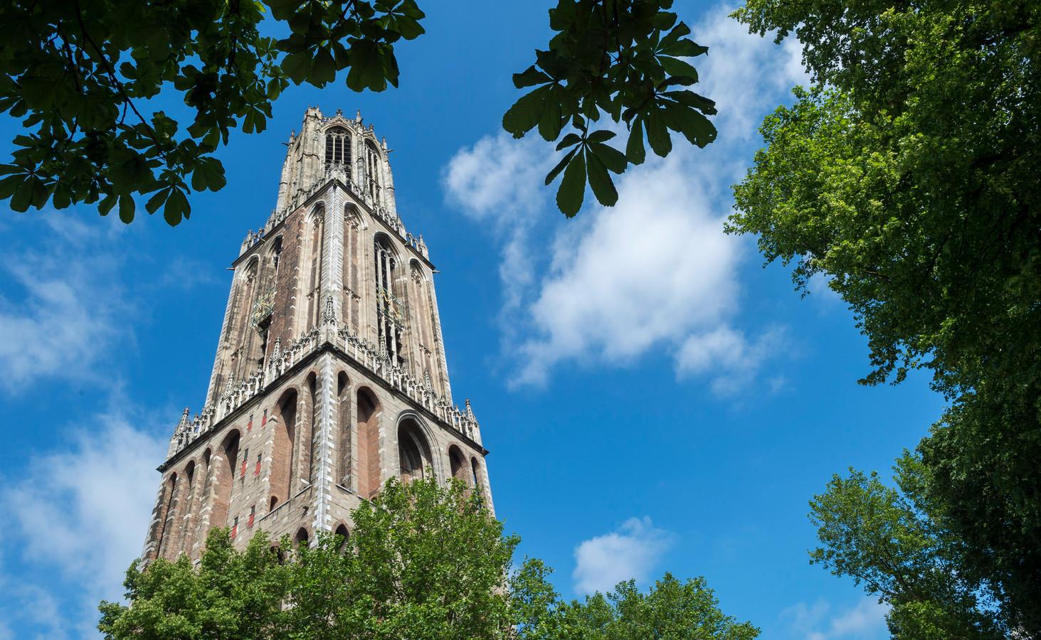 De Domtoren in het centrum van Utrecht.