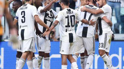 Vroege goal Mertens baat niet voor Napoli, Juve zet concurrent op zes punten