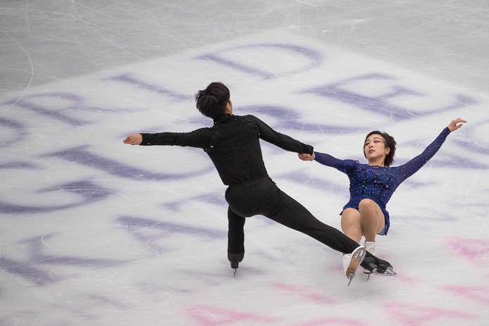 Wenjing Sui en Cong Han.