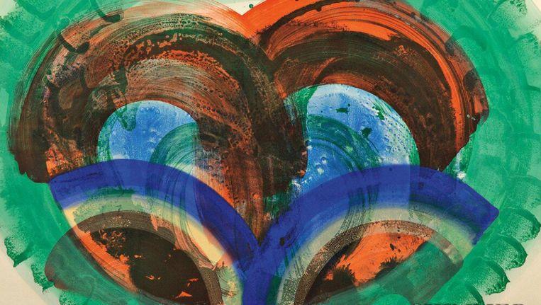 Red palm van de schilder Howard Hodgkin. Beeld getty