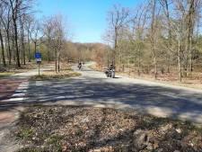 Wel toeren, maar nauwelijks wandelen in de Veluwse natuur bij Apeldoorn