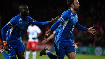 Genk wint met kleinste verschil van Kortrijk en blijft op koers voor play-off 1