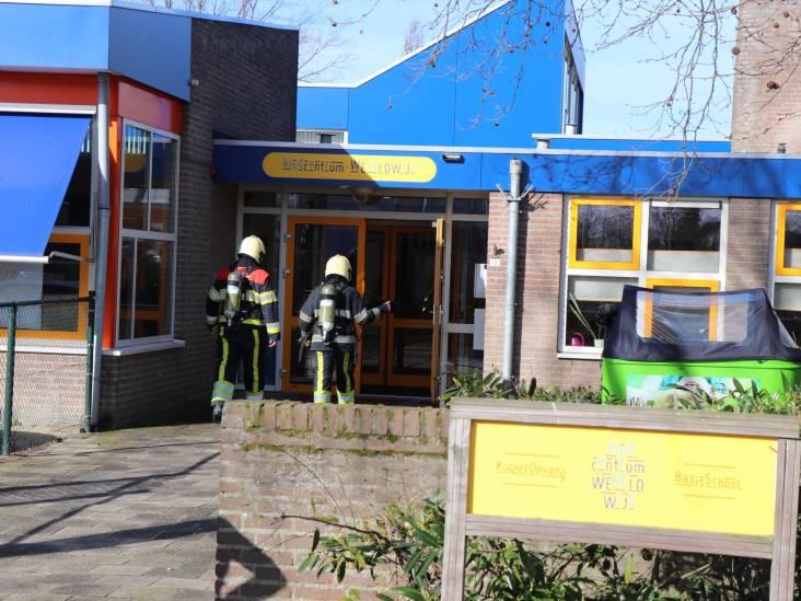 Kinderen onderzocht in ambulance na brand op basisschool Wereldwijs in Drunen